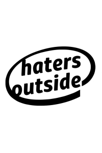 Autoaufkleber - hates outside